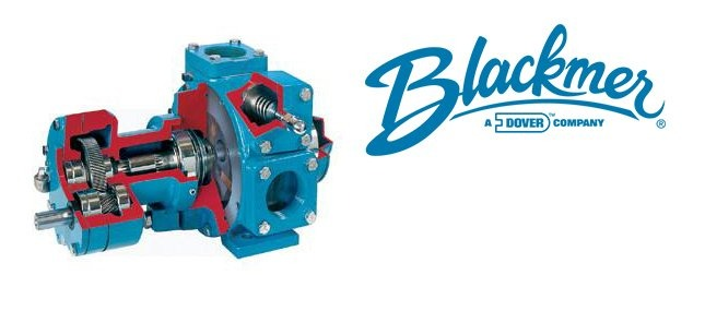 Blackmer logo with pump by Blackmer