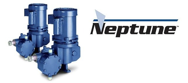 Neptune logo with pumps by Neptune